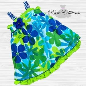 Bright Flowers Summer Dress